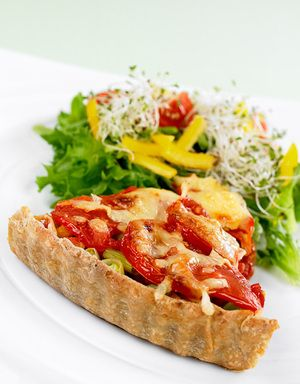 Kjempegod vegetarrett som passer som lunsj, middag eller kveldskos.