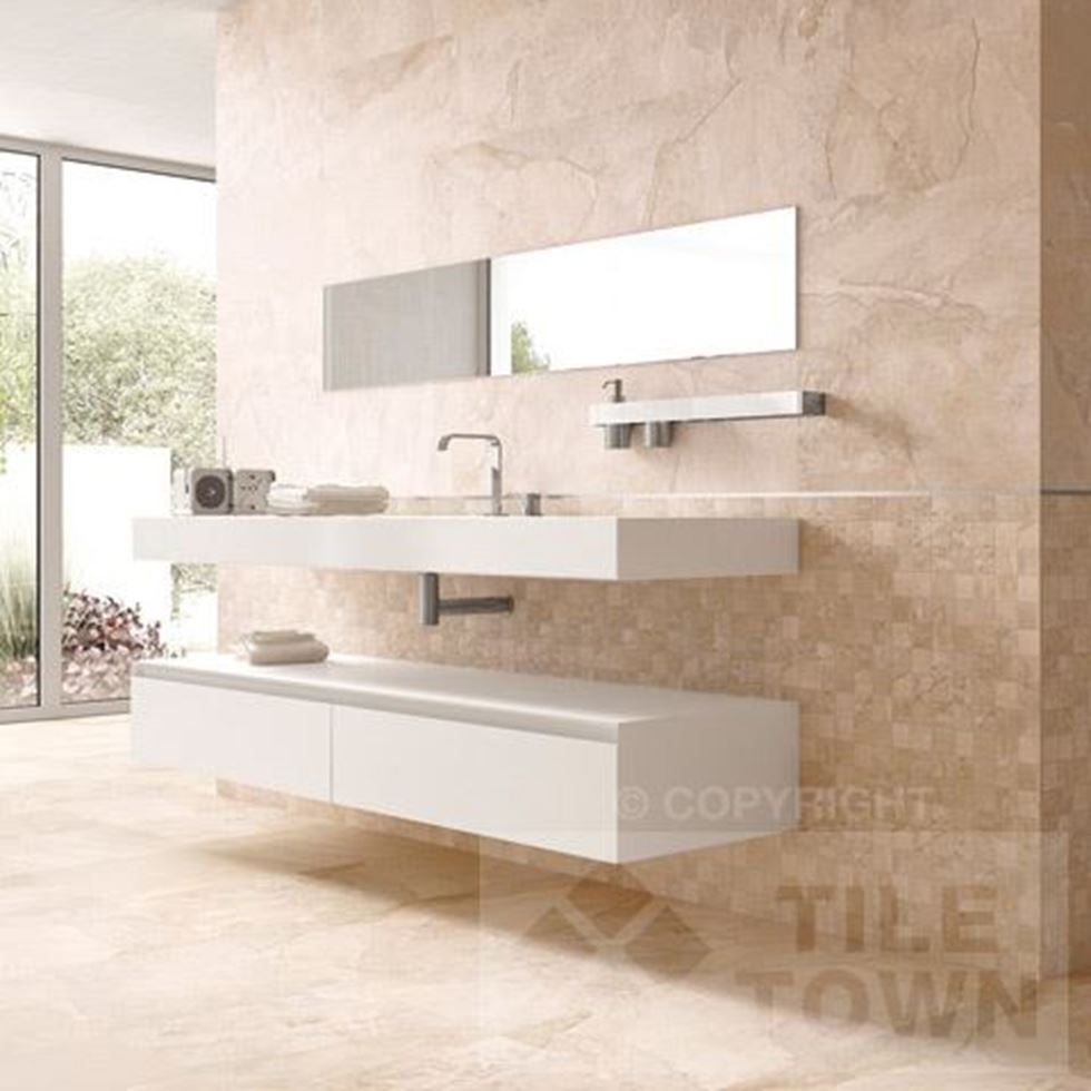 Canada sand wall the canada series is a truely innovative range of edale sand bathroom wall tiles supplied by tile town discounted slate effect wall floor tiles dailygadgetfo Gallery