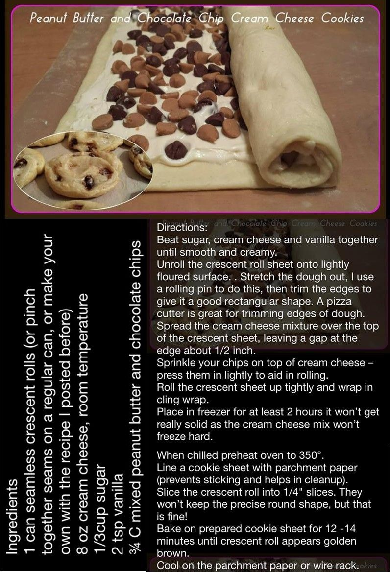 Peanut Butter Chocolate Chip Cream Cheese Cookies With Images Yummy Cookies Food Allergy Mama Fun Desserts