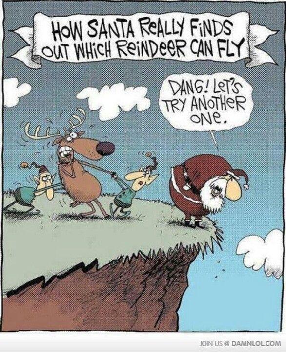 Oooooo That Evil Santa Funny Christmas Cartoons Christmas Jokes Christmas Humor