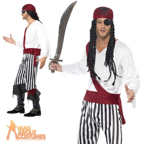 #Adult #pirate costume mens carribean buccaneer man fancy #dress outfit new View more on the LINK //.zeppy.io/product/gb/2/151672268046/  sc 1 st  Pinterest & Adult #pirate costume mens carribean buccaneer man fancy #dress ...