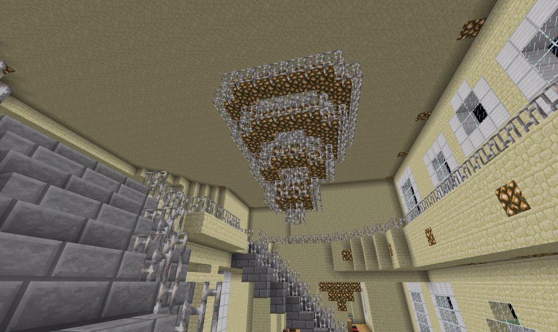 Chandelier Minecraft, How Do You Make A Chandelier In Minecraft