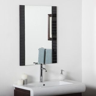 Exceptional Shop For Black Beveled Bathroom Mirror. Get Free Shipping At Overstock.com    Your