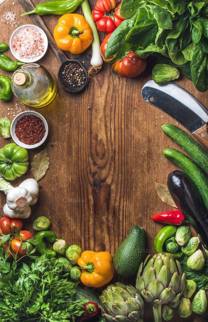 #Fresh raw vegetable ingredients Fresh raw vegetable ...