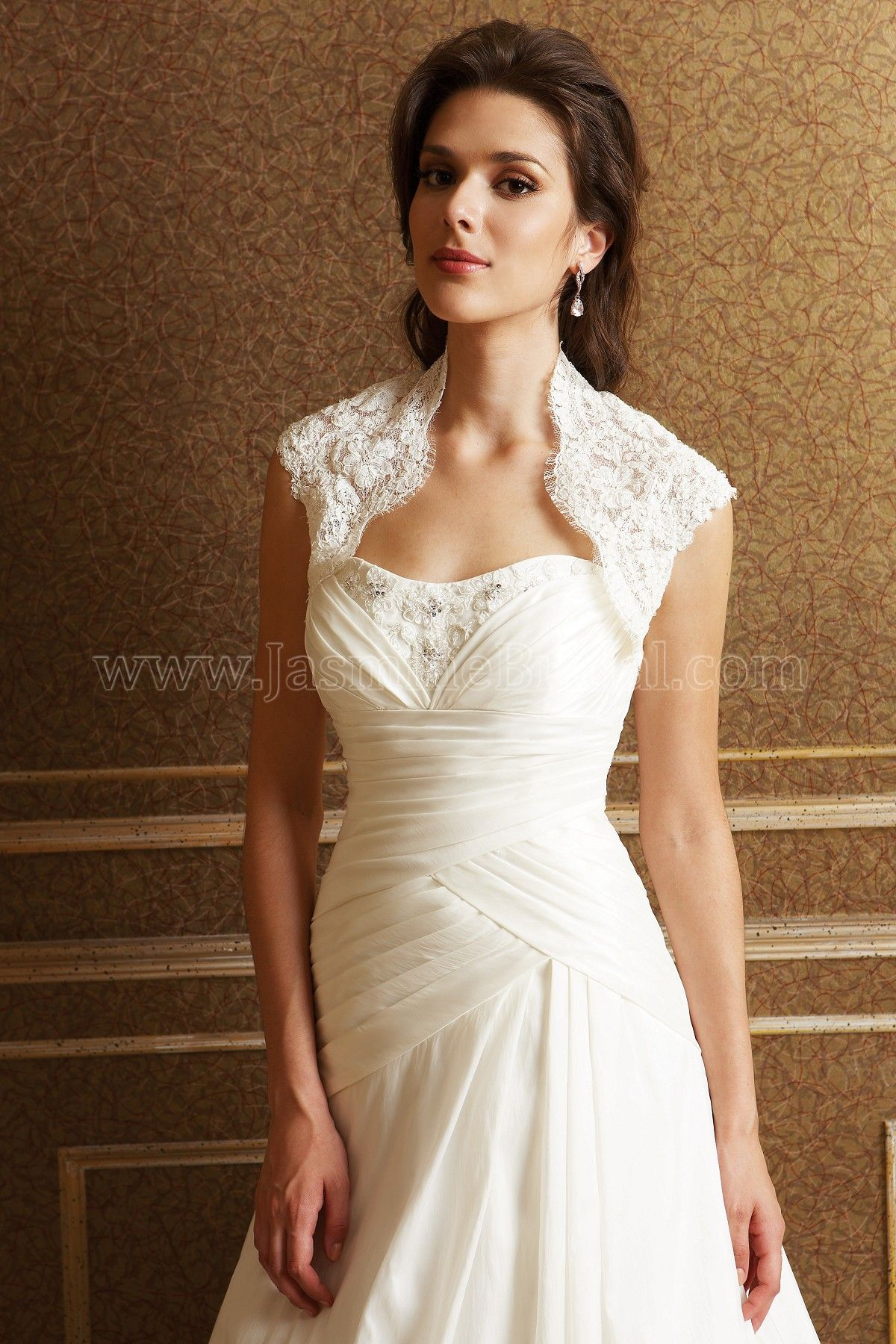 Catalog Color IVORY (IV) FABRIC Beaded lace and Netting | Bridal ...