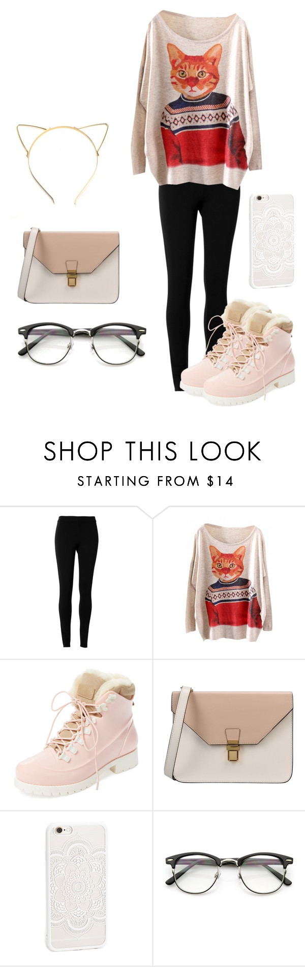 """Meow"" by geecat on Polyvore featuring Max Studio, WithChic, Australia Luxe Collective and 8"