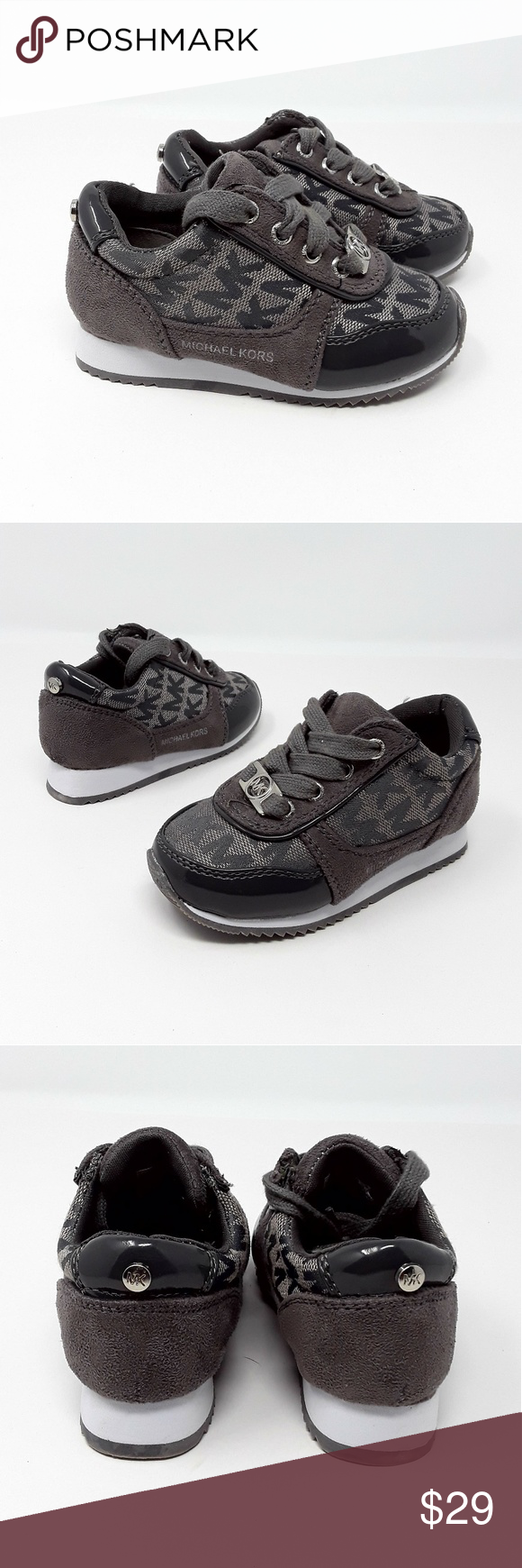 MICHAEL KORS Signature Lil Milano Infant Shoe (With images ...
