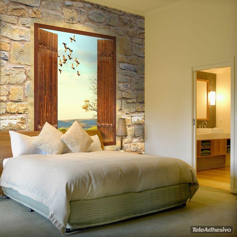 pin von julia auf schlafzimmer pinterest fototapete fenster fototapete und fenster. Black Bedroom Furniture Sets. Home Design Ideas