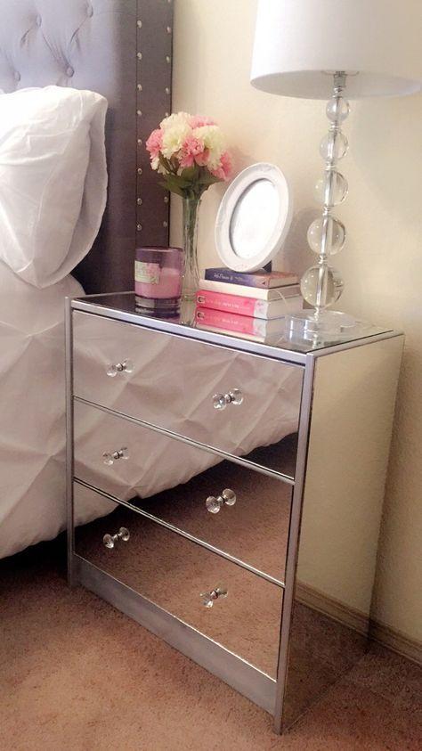 Diy Furniture Bedroom Nightstand Mirrored Dresser 20 Ideas  Diy Furniture Bedroom Nightstand Mirrored Dresser 20 Ideas