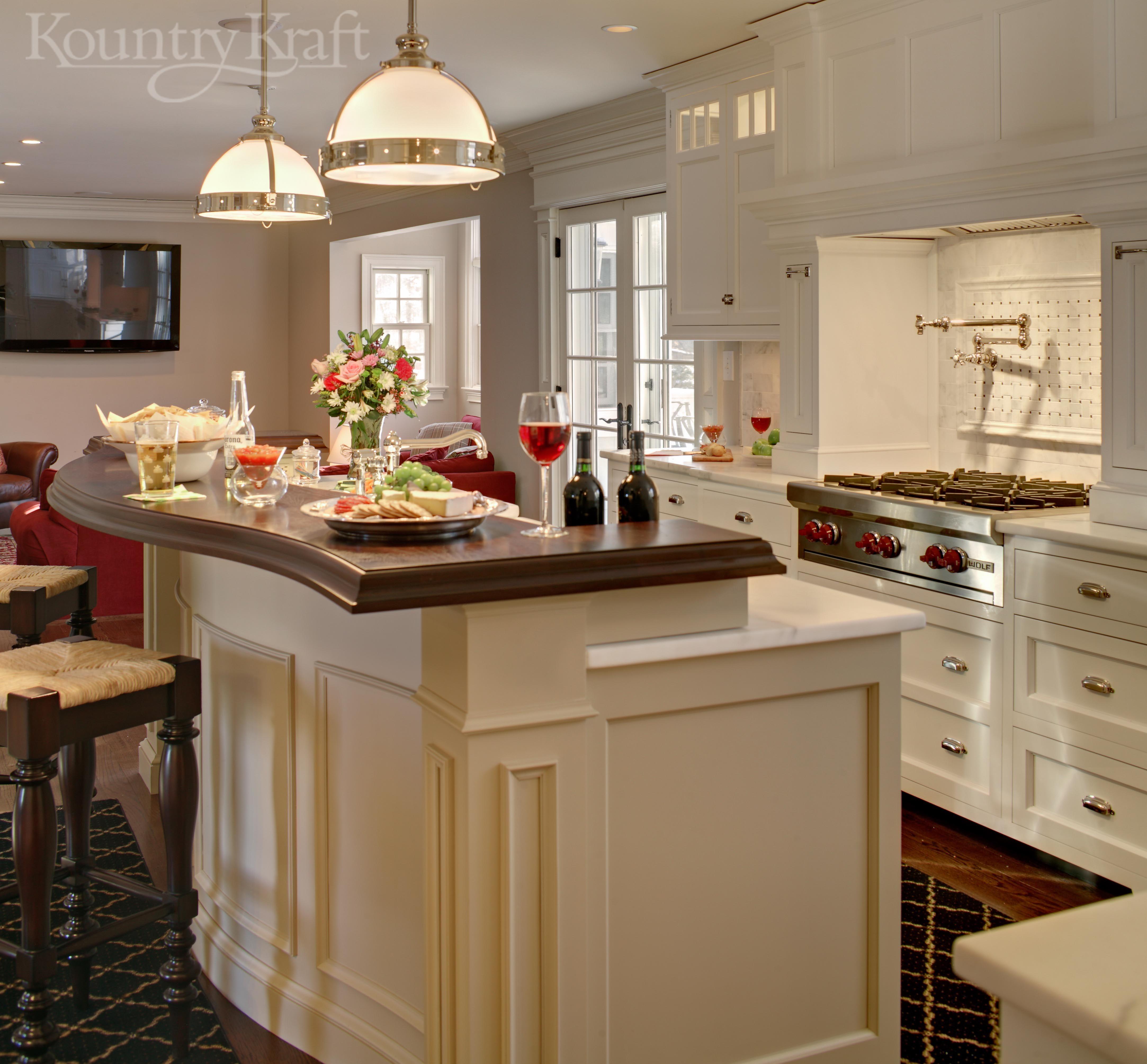 Pin By Kountry Kraft Inc On Custom Kitchen Cabinets Custom