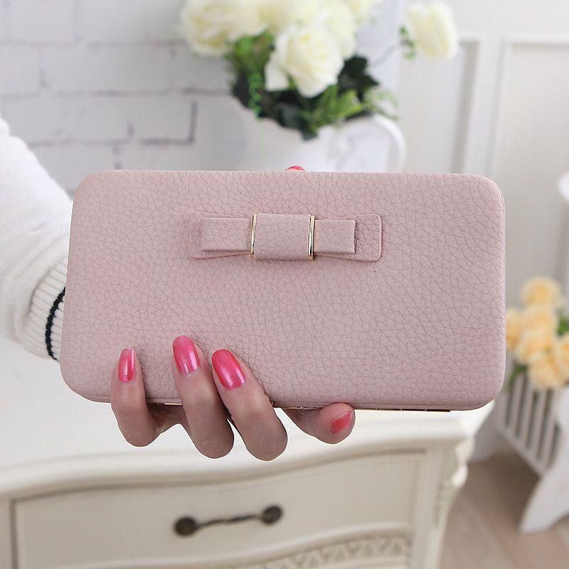 balenciaga card holder pink