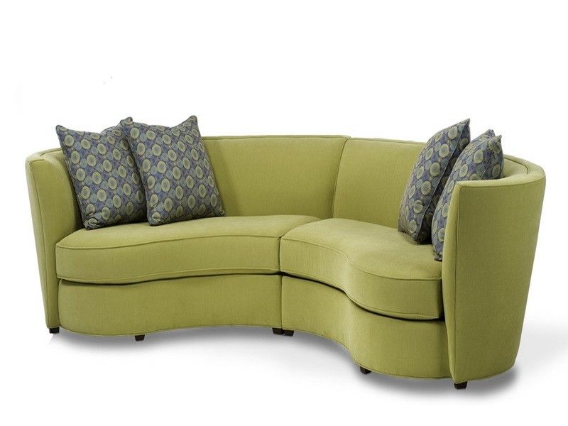 exploresmall curved sectional sofa | Sofas
