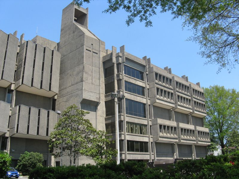 What is this place? Lauinger's Place in the Brutalist Mafia | Ars ...