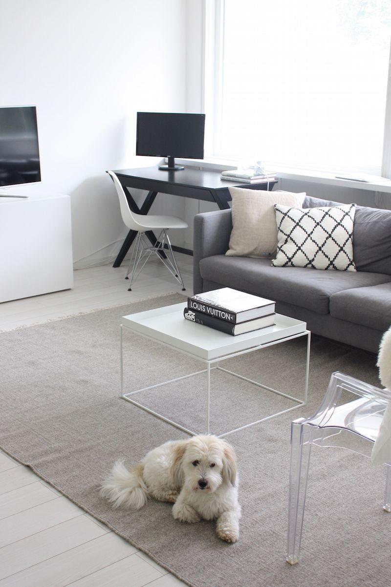 Homevialaura | testing new carpets for livingroom | Anno Taival wool rug from Kodin Ykkönen