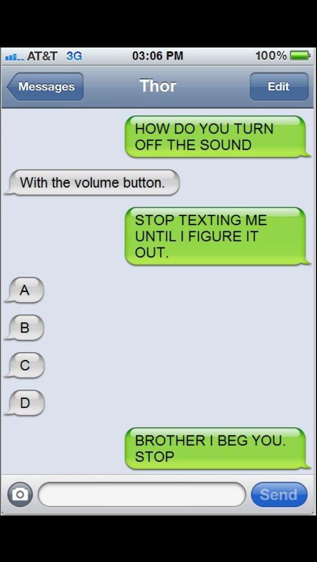 Haha loki would totally do this!