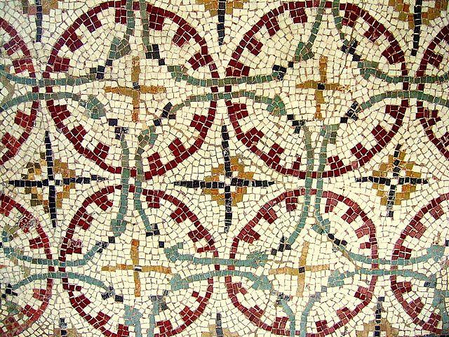 Roman mosaic, British Museum.