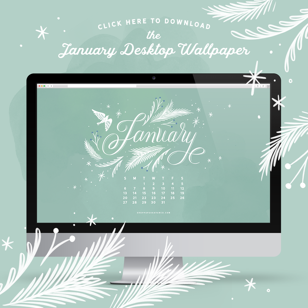 Happy New Year! The January 2019 Illustrated Desktop ...
