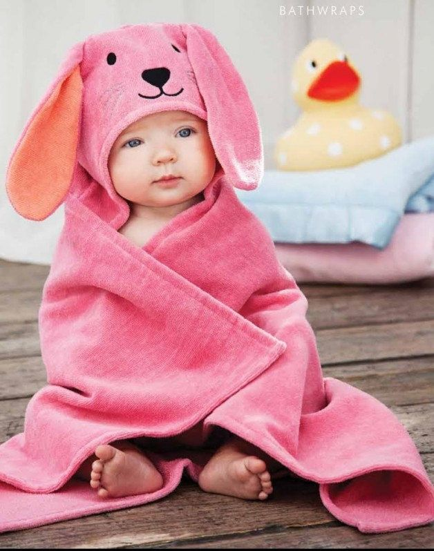 Personalized baby hooded towel kitty bath wrap perfect baby personalized baby hooded towel bunny bath wrap perfect baby gift embroidered by sewmeshoppe on etsy negle Choice Image
