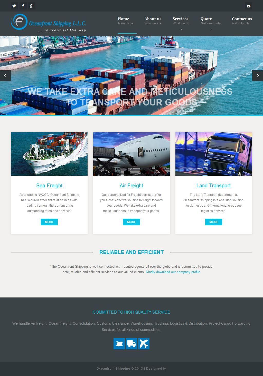 Oceanfront Shipping Llc Juma Al Majid 3 47 Sheikh Khalifa Bin