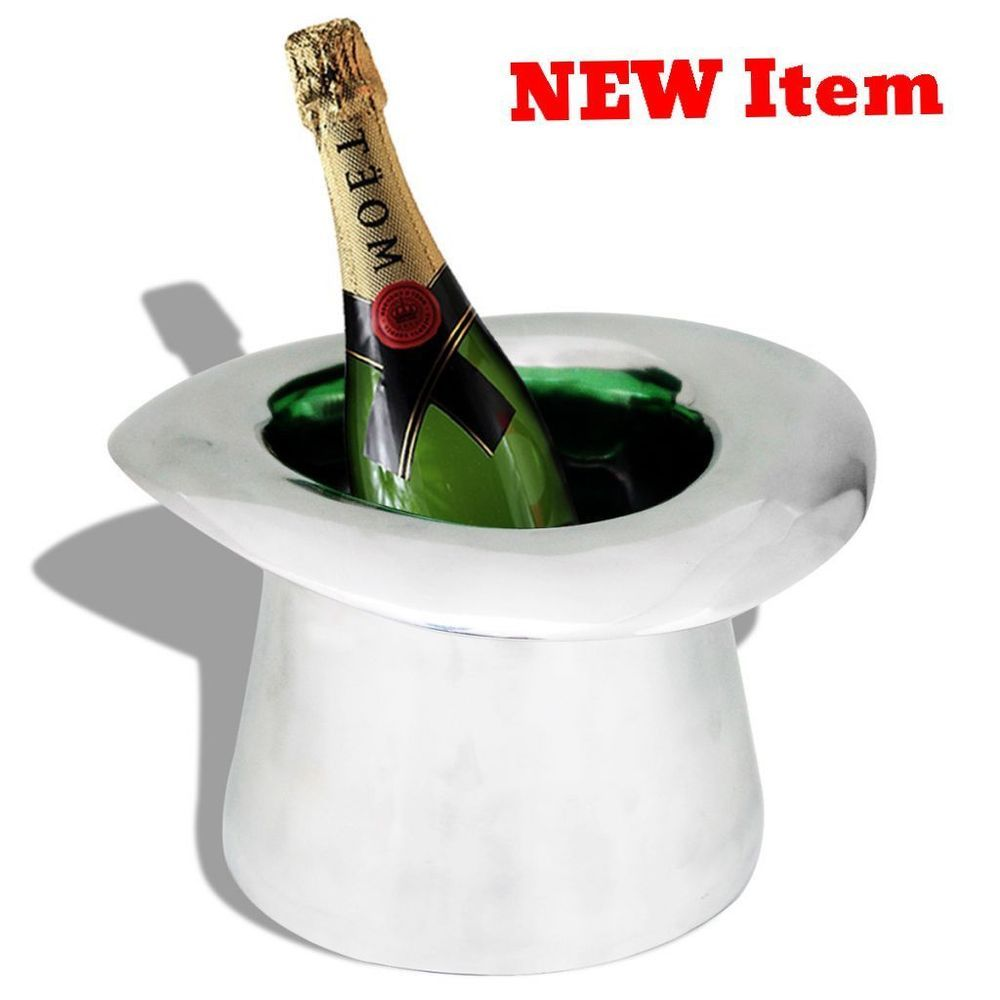 Champagne Ice Cooler Magician Hat Wine Bottle Bucket Soda Drink Dinner  Party NEW