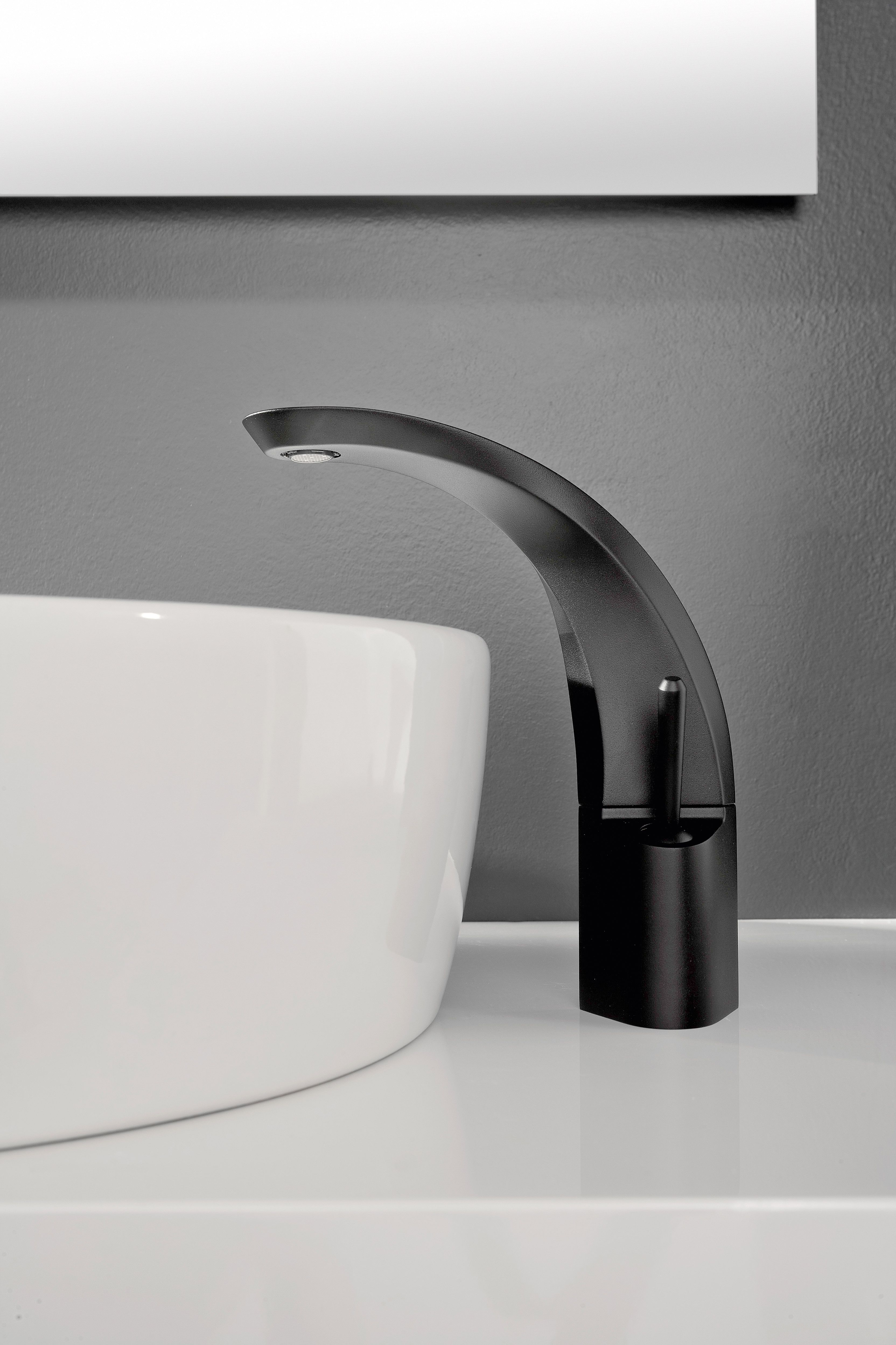 Bold and daring, the Ametis vessel lavatory faucet, designed by ...