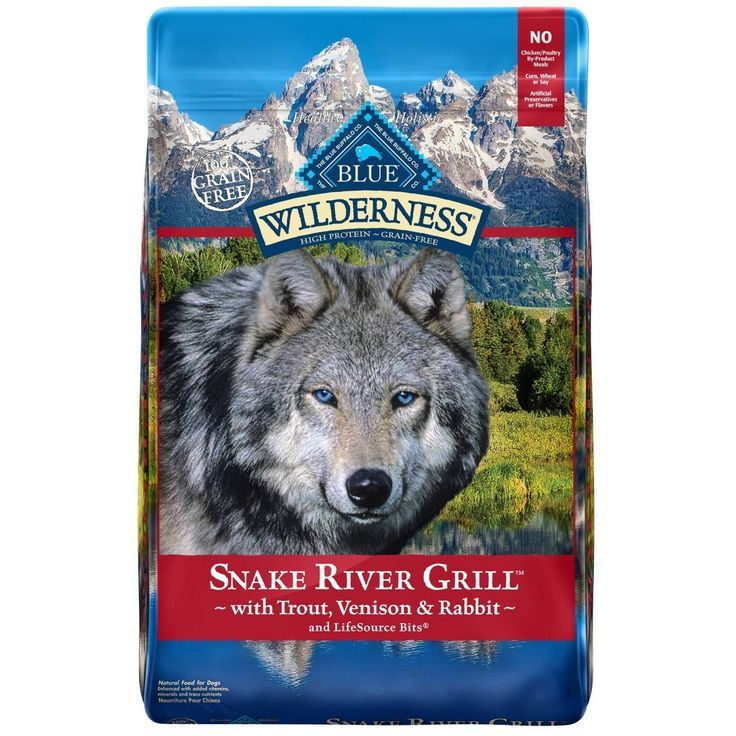 Blue buffalo wilderness snake river grill dry dog food