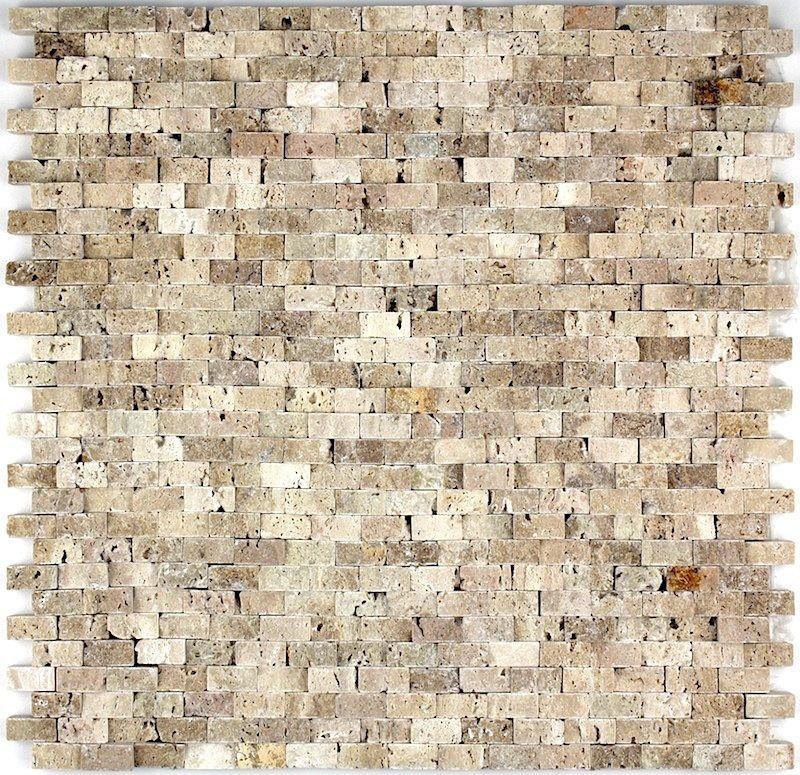 mosaique pierre carrelage mur salledebain et douche modele CINZA