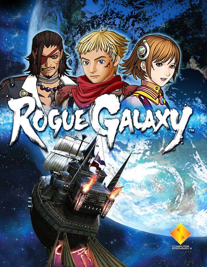 Box Artwork Rogue galaxy, Ps2 games, Mini games