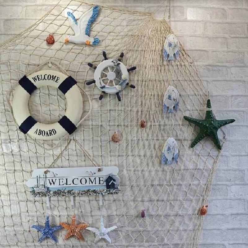 Fischernetz Deko Bringt Eine Maritime Stimmung Ins Haus Fischernetz Deko Fischernetze Deko