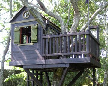 barbara butler in the media extraordinary play structures for kids treehouse - Easy Kids Tree House