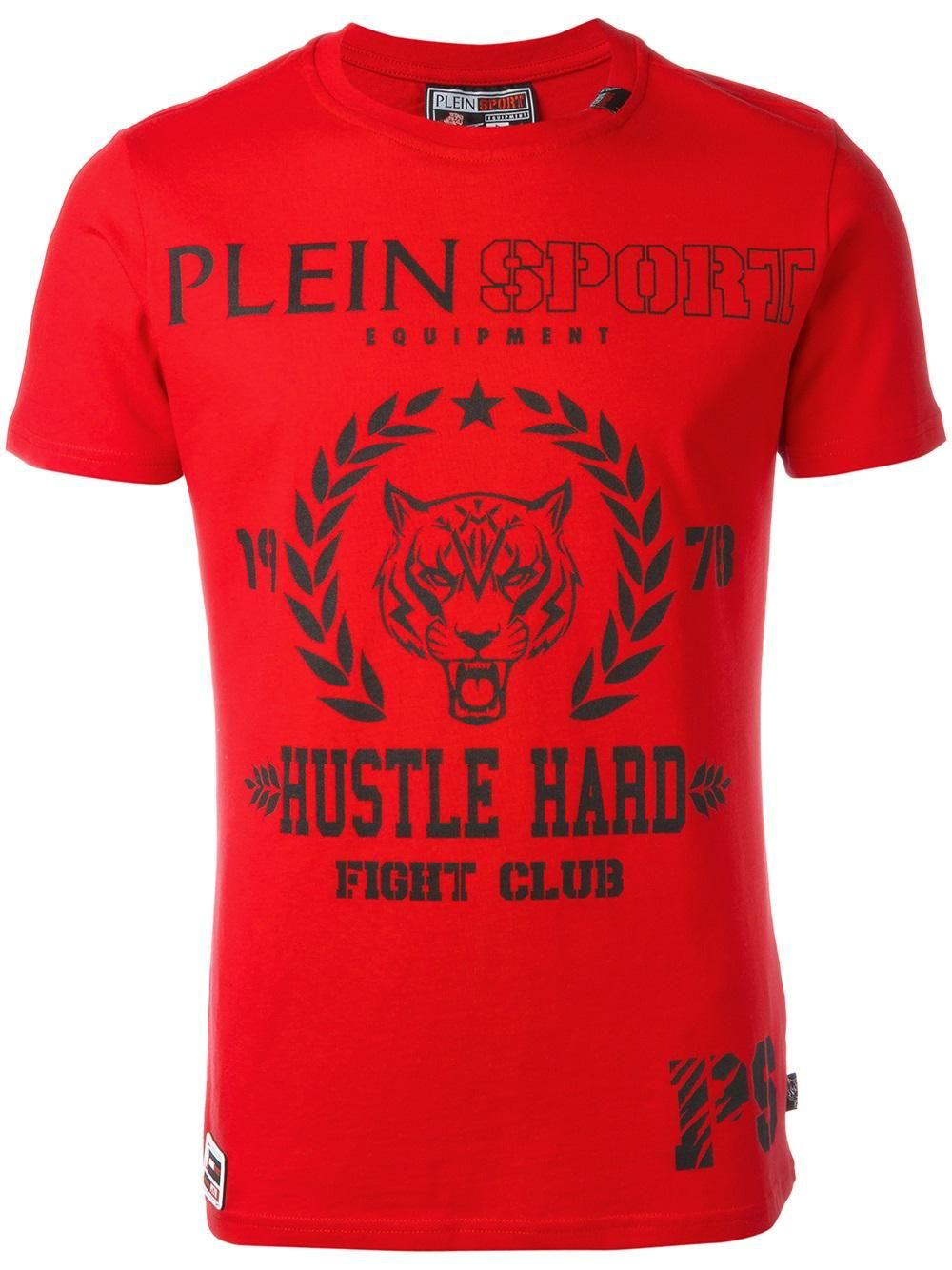 Plein Sport logo print Tshirt T shirt, Sport, Mode