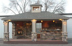Outdoor kitchen sports bar built in grill outdoor for Romido einrichten