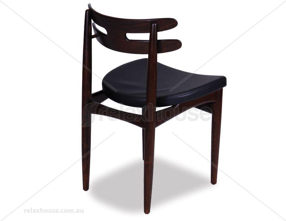 Bramin Wooden Dining Chair Replica Hw Klein American Ash