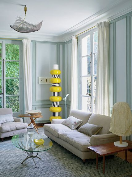 A Clic French Home With Iconic Memphis Design The New