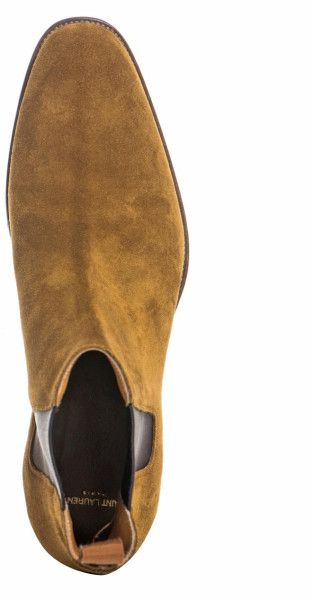 e90efe65c7a Saint Laurent Suede Chelsea Boots in Brown for Men (camel)