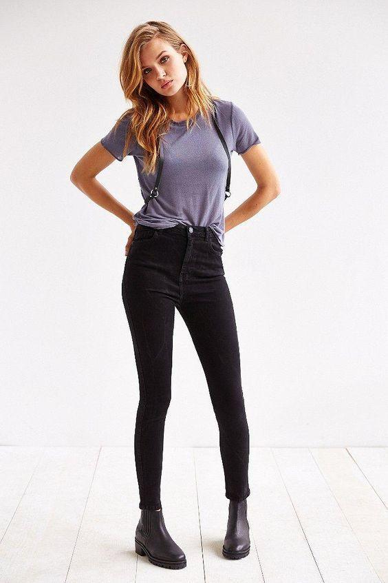 Women Fashion Urban 4 Seasons Jean/'s Style Women Skinny Slim Leggings