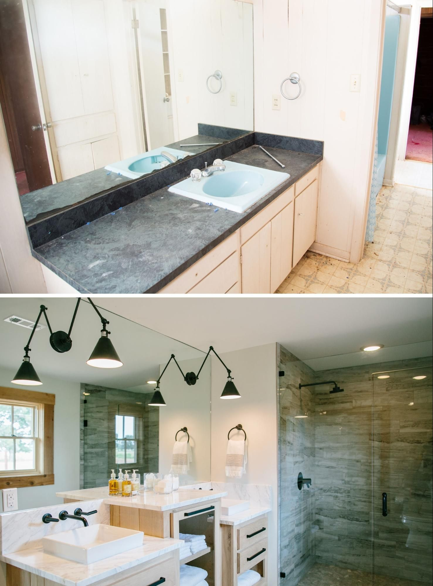 Bathroom Remodels On Fixer Upper fixer upper | hgtv, sinks and house