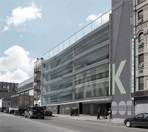 Nyc Parking Garage Gets 4 Million Facelift Parking Building Parking Garage Facade