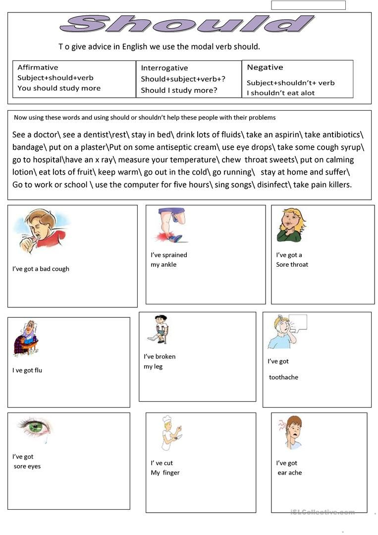 Health Problems And Remedies Worksheet Free Esl Printable Worksheets Made By Teachers Health Problems Health Subject And Verb [ 1079 x 763 Pixel ]