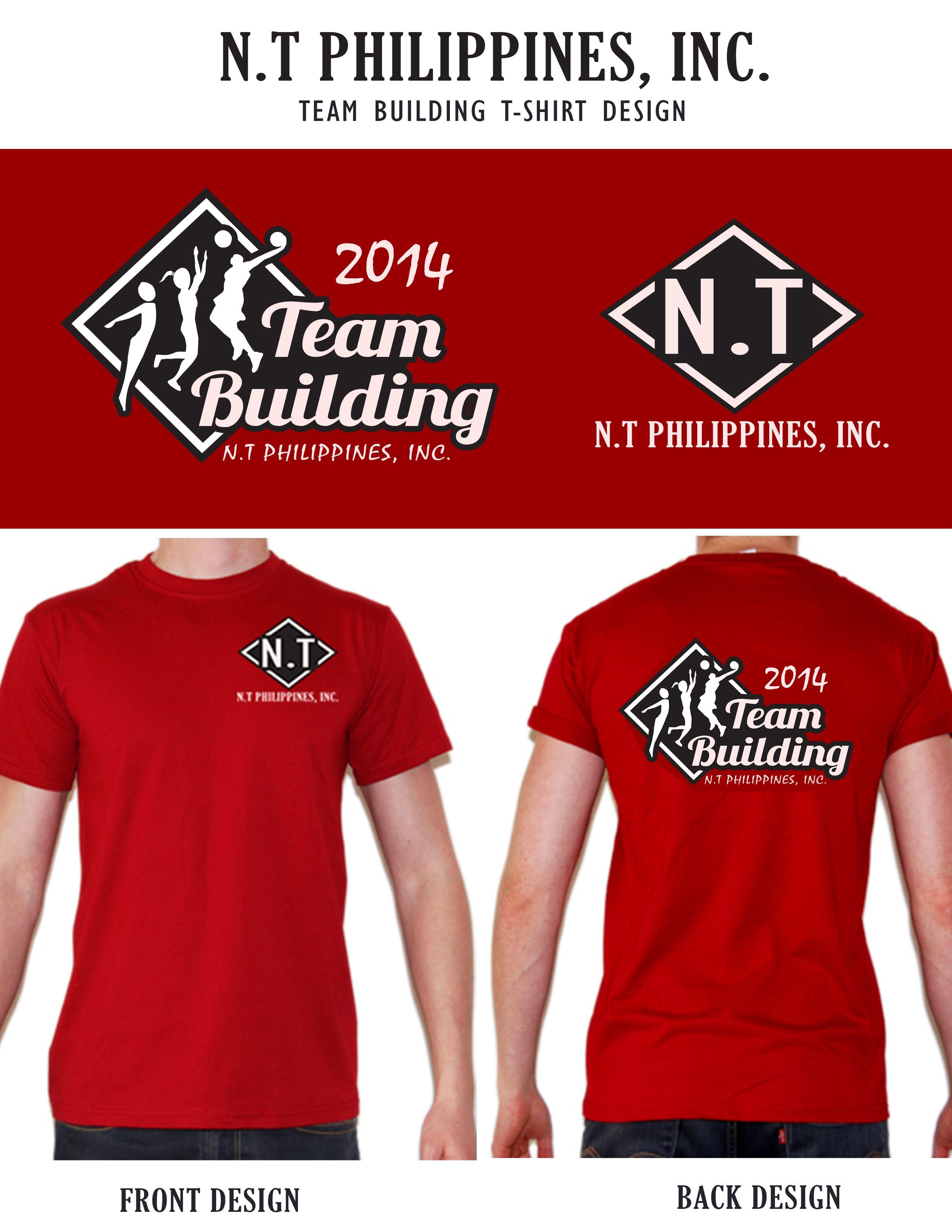 NT Team Building Tshirt Design Shirt designs, Tshirt