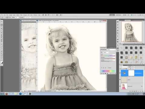 Breaking Down the Layout - Blending Video Tutorial 01 (soft face or figure) by Brandy Murrey