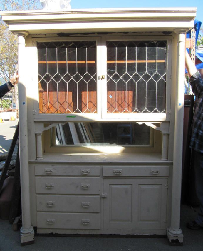 Salvaged Built In Hutch