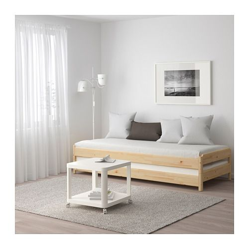 ut ker lit empilable pin 80 x 200 cm diy ikea hack pinterest ikea matelas et fermer. Black Bedroom Furniture Sets. Home Design Ideas