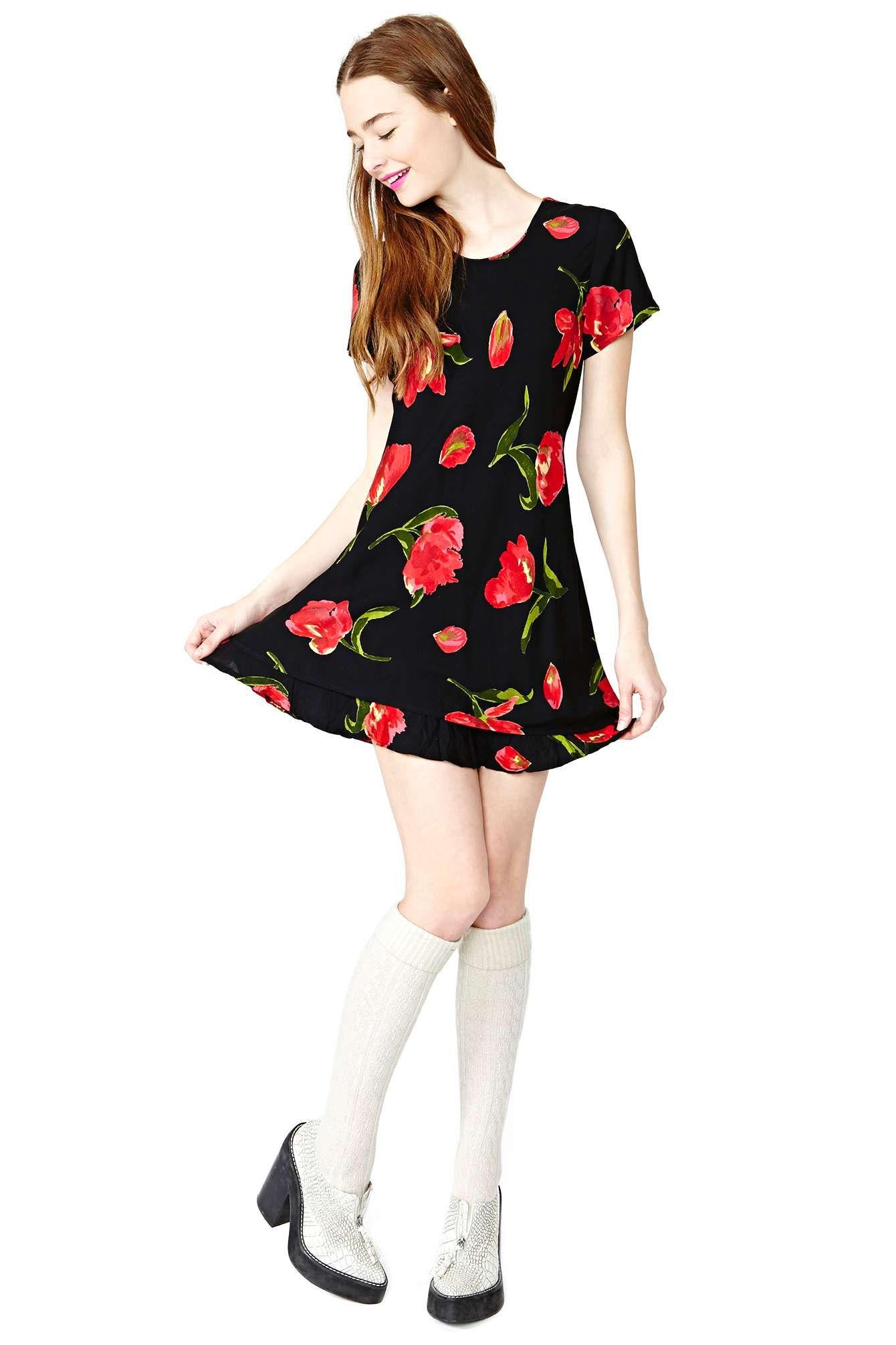 Such a rose dress shop vintage at nasty gal fashion ideas