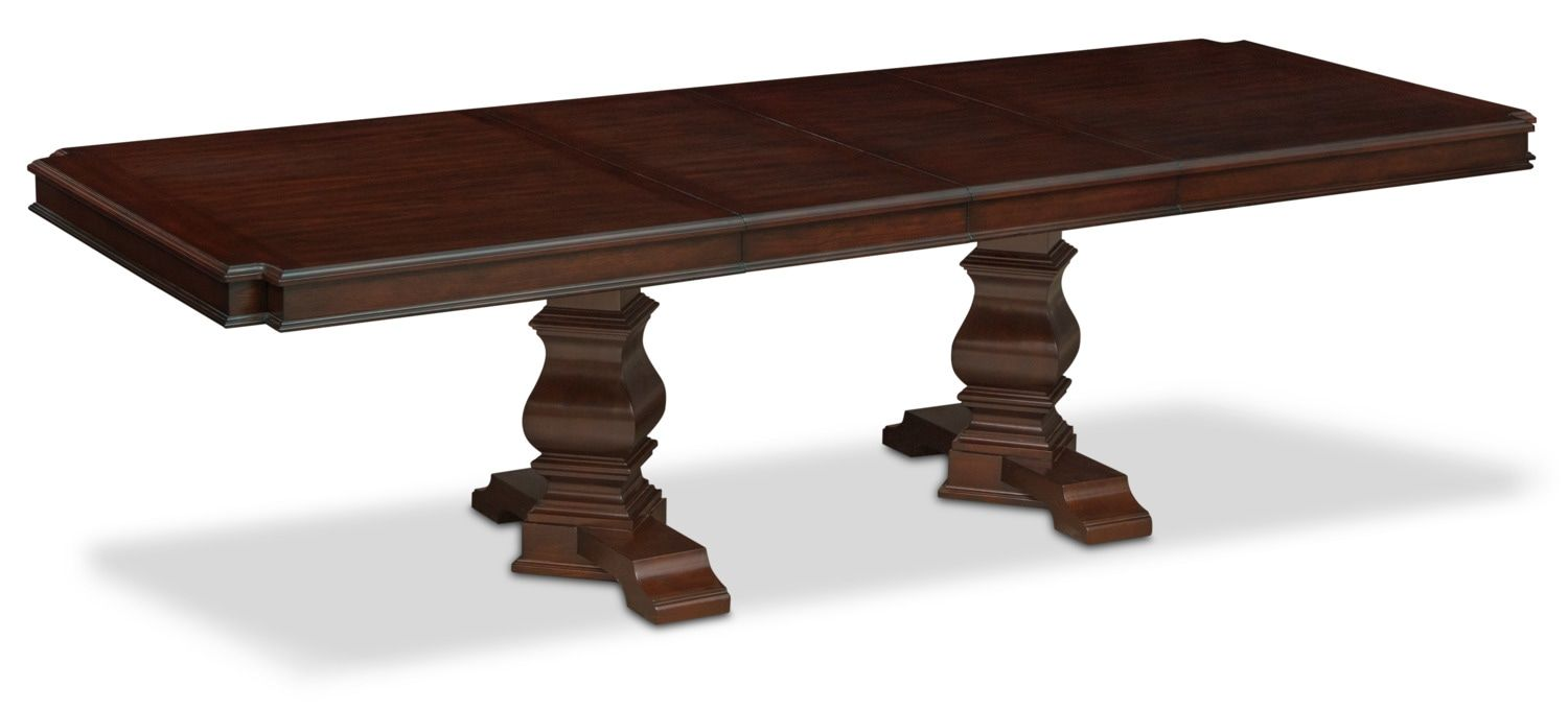 3228bbd1cd Vienna Dining Table, 6 Side Chairs and 2 Upholstered Side Chairs - Merlot    American Signature Furniture