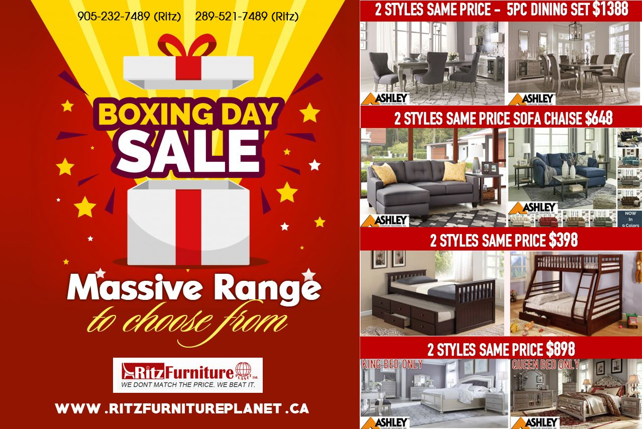 Boxing Day Sale Is On Boxing Day Sales Ritz Boxing Day