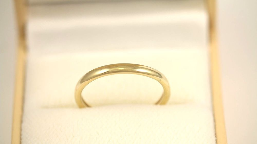 14K Solid Yellow Gold Designer Band Ring/21342 yellowgold