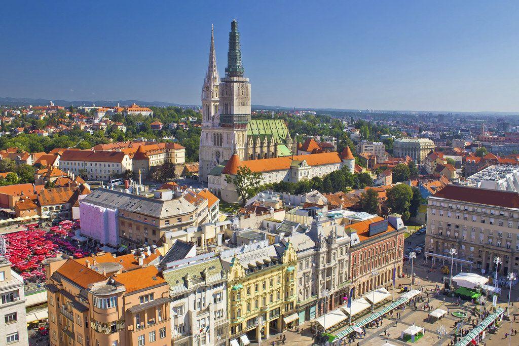 Zagreb Croacia Cities In Europe Croatia Travel Croatia Tours