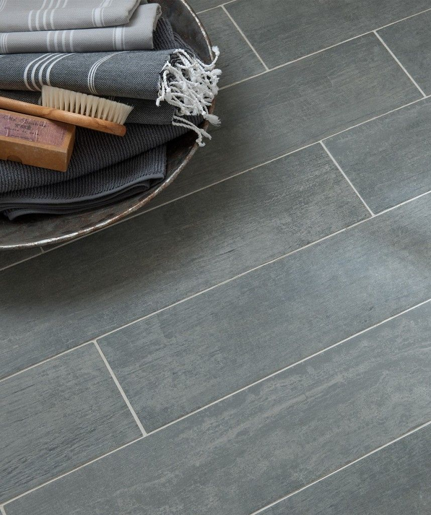Kapok Wood Cement Grey Tile | Topps Tiles
