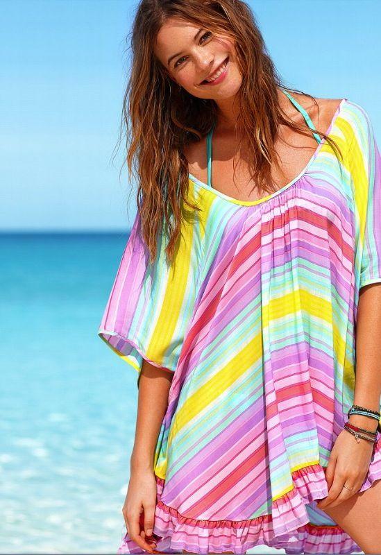 848b4b5287 LOVE this summer cover up. Victoria's Secret Beach Sexy Circle Tunic